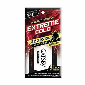 42 sheets GATSBY Facial Paper Super refresh value pack [HTRC3] From Japan