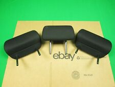 2008-2010 SCION XB REAR BACK SEAT HEADREST PAIR SET BLACK CLOTH OEM USED