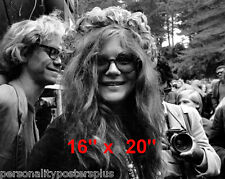 "Janis Joplin~Casual~ Poster~16"" x 20"" Photo"