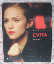 THE MAKING OF EVITA 1996 MADONNA ALAN PARKER  LARGE PAPERBACK BOOK EX COND+