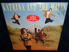 Katrina And The Waves, Waves, 1986 *SEALED* VINYL LP *PROMO*  *HYPE STICKER*