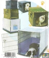 OOP Simplicity Sewing Pattern 4713 Dog Pet Crate Kennel Covers 3 Sizes + Bumper
