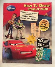 Disney - How to Draw Stars of Pixar - Create Your Heroes - Brand New