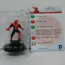 DC HeroClix War of the Light Atrocitus Limited Edition #112 Figure w/ Card G01
