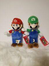 """Super Mario 10"""" Mario And Luigi Plush"""