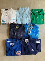 80s 90s Wholesale Polo Rugby Vintage Clothing Shirt Lot of 7