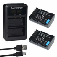 DMW-BLF19E DMW-BLF19PP Battery For Panasonic Lumix DMC-GH3 GH3A GH4 /LCD Charger