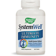 NATURES WAY - SystemWell Ultimate Immunity - 180 Tablets