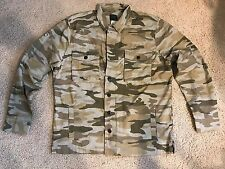 Lucky Brand - Men's XL - NWT - Camo Camouflage Cotton Button-Front Shirt Jacket