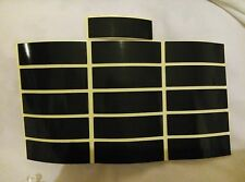 New Double Sided Self Adhesive Sticky Number Plate Pads / Stickers x65