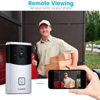 FLOUREON Video Doorbell Smart Doorbell WiFi 720P HD Security Camera Night Vision