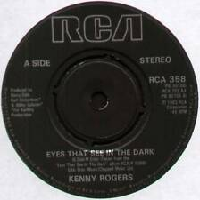 "[BEE GEES] KENNY ROGERS ~ EYES THAT SEE IN THE DARK ~ 1983 UK 7"" SINGLE"