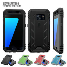 for Samsung Galaxy S7 Premium Rugged Case Poetic Revolution TPU Cover Black