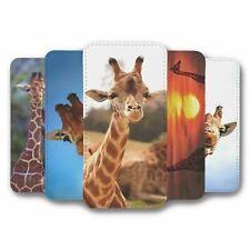 For Samsung Galaxy S10 Flip Case Cover Giraffe Collection 1