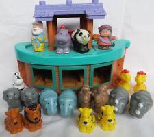 Fisher Price Noah's Ark Little People Animals Naomi Opens Preschool Mattel 2002