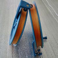 Outdoor Kite Line Winder Winding Reel Grip Wheel with flying Line String + Lock