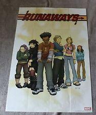 Runaways 2005 Brian K. Vaughan Adrian Alphona MOVIE? PROMO Poster FNVF