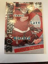 1995-96 Fleer Ultra Extra No Entry #374 Chris Osgood Detroit Red Wings Card