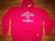 PHILADELPHIA PHILLIES MLB MAJESTIC AC PROPERTY THERMA BASE HOODED SWEATSHIRT