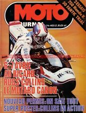 MOTO JOURNAL  405 HONDA CB 750 K Four ; Fantic 50 Trial ; Russ COLLINS 1979