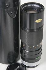 Canon 100-200mm FD lens * Mint with caps & case