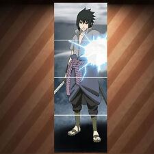 SASUKE UCHIHA - Large Laminated Poster - Anime Manga Naruto Shippuuden Fantasy