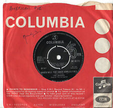 """Seekers - When Will The Good Apples Fall / Myra 7"""" Single 1967"""