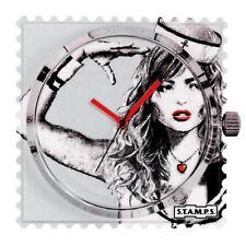 S.T.A.M.P.S. Stamps Uhr, Zifferblatt Frogman, wasserdicht Ahoi! 104260