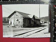 SHARP PHOTO of BUFFALO & PITTSBURGH RAILROAD DEPOT STATION @ PUNXSUTAWNEY PA