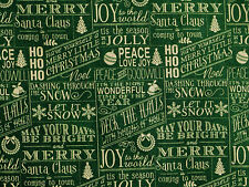 FAT QUARTER WAVERLY CHRISTMAS DRAPERY HOLIDAY 100% COTTON FABRIC HEAVY WEIGHT FQ