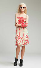Alice by Temperley Mini Ezra embroidered Oyster Mix dress size 6 rrp £495....#*3