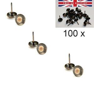 Free UK P & P Antique Resin Craft Nails Studs Tacks Pins 100 x Upholstery