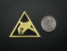 Adafruit ESD (Electrostatic discharge) - Skill badge, iron-on patch [ADA748]