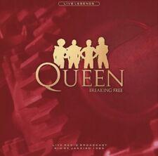 "QUEEN Breaking Free LIVE 12"" Orange Vinyl NEW & Sealed"