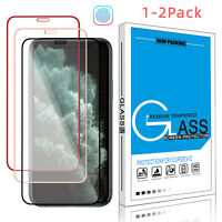 For iPhone 12/11 Pro/Pro Max/XR Premium 3D Full Tempered Glass Screen Protector