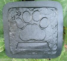 Memorial dog stepping stone mold  mould