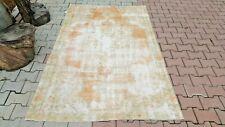 Oushak,5x7 feet Turkish Rug,Bohemian, anatolian Rug, Bohemian Vintage, Knot Rug