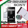 DISPLAY LCD+TOUCH SCREEN SONY XPERIA Z5 E5823 SCHERMO E6603 E6653 E6683 BRT_24H!