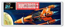 THUNDERBIRDS 3 JR 21 MODEL BOX ARTWORK NEW WIDE FRIDGE LOCKER MAGNET