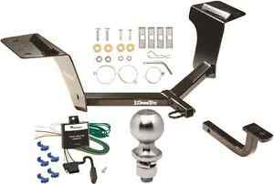 COMPLETE TRAILER HITCH PACKAGE W/ WIRING KIT FITS 2008-2009 PONTIAC G8 DRAW-TITE