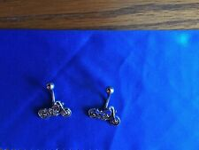 motorcycle belly rings Set of two