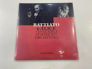 LP FRANCO BATTIATO ALICE LIVE IN ROME 2 LP UNIVERSAL NUOVO DISP DAL 21 05 2021