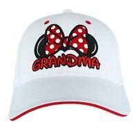 New Disney Women's Minnie Mouse Grandma Fan Baseball Cap
