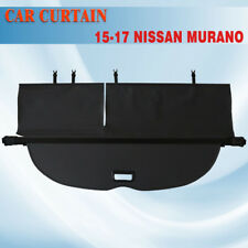 15-17 Nissan Murano Retractable BLK Cargo Cover Rear Trunk Luggage Shade