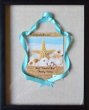 """12x15"""" Display Shadow Box Frame with Linen Background and 8 Stick Pins 11x14"""""""