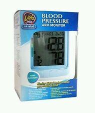 Semi-Automatic Blood Pressure Arm Monitor