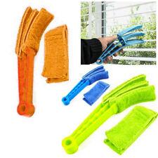 Microfiber Venetian Blind Blade Cleaner Window Conditioner Duster Brush Vertical