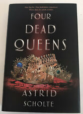 Four Dead Queens by Astrid Scholte OWLCRATE EDITION SIGNED