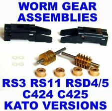 WORM GEAR ASSEMBLIES W/COVERS RS3 RS11 C424 C425 RS32 C420 ALL Versions ATLASHO