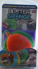 Better Sponge 3 Sponges Anti-Bacterial Kitchen Cleaner NEW in Pack